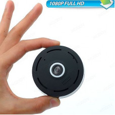 295-08 Panoramic WIFI camera puck FULL HD 1080P 2MP