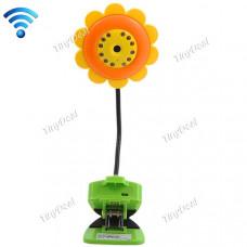 530-05 WIFI Video baby Monitor, flower monitor 2 way communication night