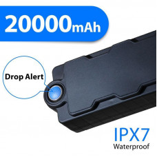 309-01 GPS/GPRS tracker with extended battery 20000 mAh long life