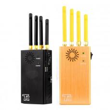 TX-N4 Портативный 4-антенный подавитель GSM 3G DCS GPS Glonass